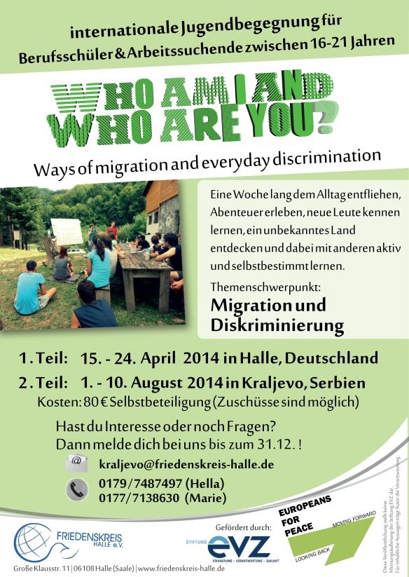 Flyer Jugendbegegnung August2